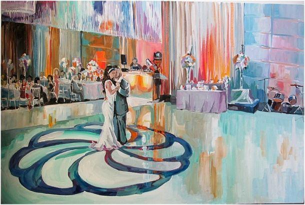 Olga Pankova Live Artist The Wedding Opera