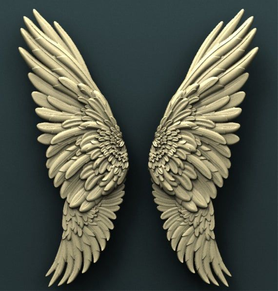Angel Wings Food Safe Silicone Mould For Cake Toppers Etsy In 2021 Wings Angel Wings Food Cnc Wood Carving