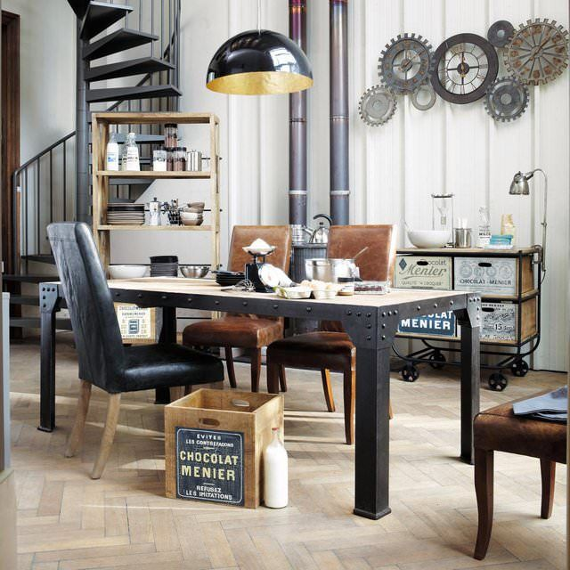 Preferenza Oltre 25 fantastiche idee su Tavoli da pranzo in stile rustico su  XX05