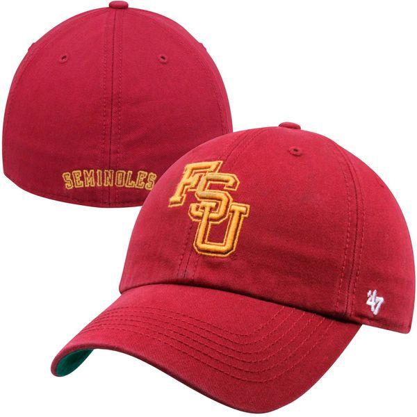 '47 Brand Florida State Seminoles (FSU) New Vault Franchise Fitted Hat - Garnet, Your Price: $29.99