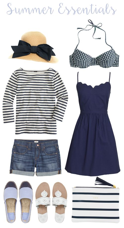 Perfect summer look. Especially love the dress and hat. Would pass on the Toms-looking shoes tho.