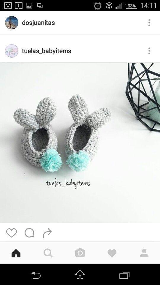 Mejores 27 imágenes de Tejido de calzado en Pinterest | Punto de ...