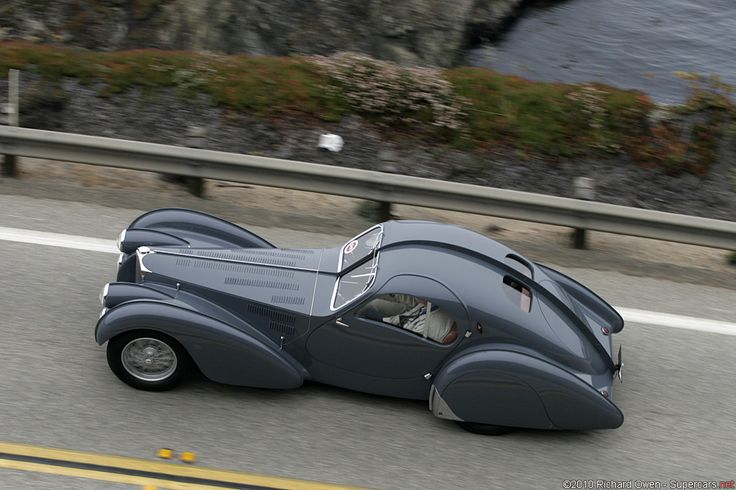 1936 Bugatti Type 57 SC Atlantic.
