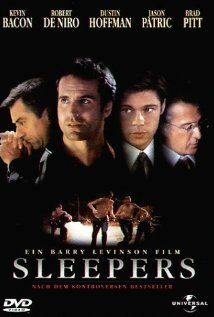 After a prank goes disastrously wrong, a group of boys are sent to a detention center where they are brutalized; over 10 years later, they get their chance for revenge.    Director:  Barry Levinson  Writers:  Lorenzo Carcaterra (book), Barry Levinson (screenplay)  Stars:  Robert De Niro, Kevin Bacon and Brad Pitt