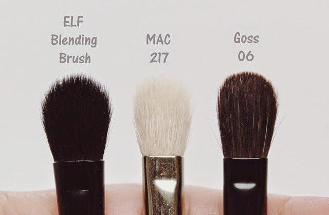 MAC 217 Brush Dupe • EyesLipsFace New! Studio Blending Brush • Full Review Total Re-Haul 2014