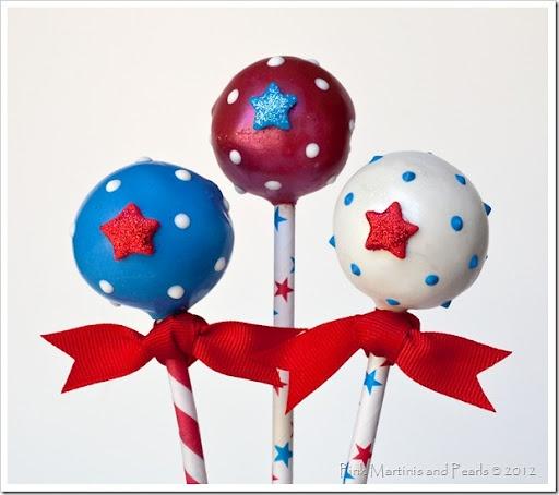Th Of July Cake Pops Pinterest