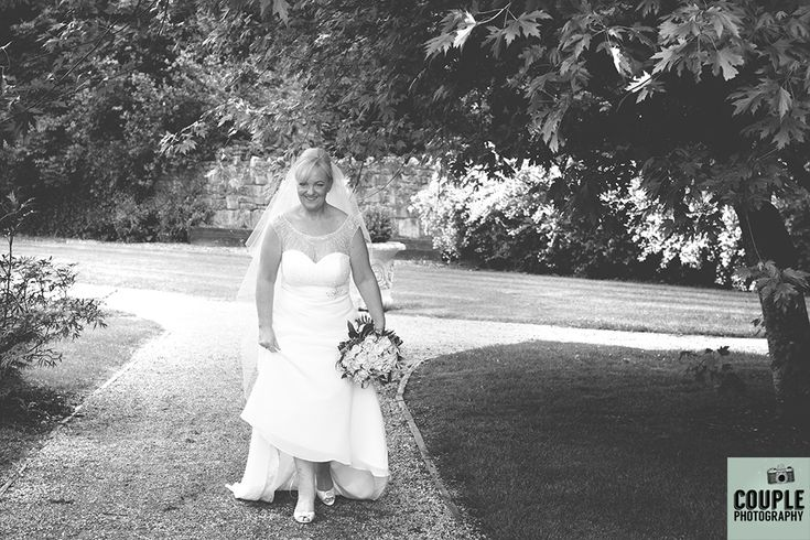 The bride. Weddings at The Johnstown Estate, photographed by Couple Photography.