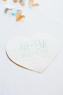 our wedding, the programs via Style Me Pretty