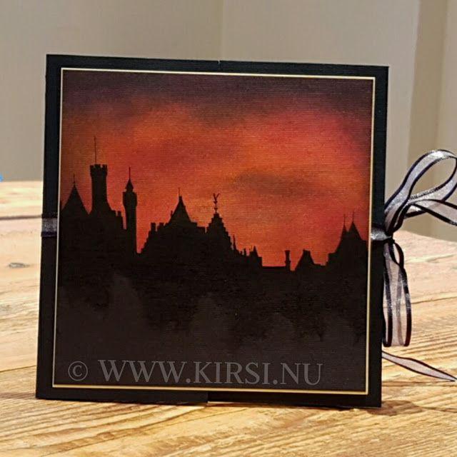 Kirsi: Merlin & Arthur-födelsedagskort.Fick en beställnin...