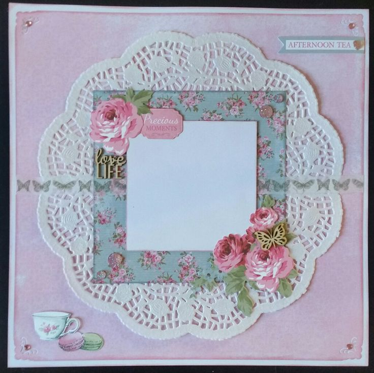 HT page 1 High Tea Collection by Kaisercraft