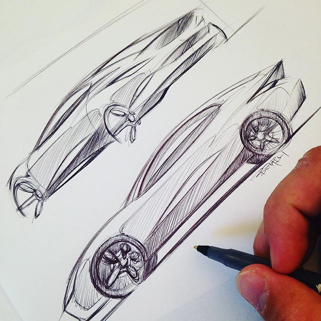 WEBSTA @ thesketchmonkey - To marker or not to marker, that's the question. I think I'll leave these quickies like this for now. Video will be up on my YouTube today!!! Go subscribe  Search for TheSketchMonkey and my face should pop up Have a fantastic Friday and weekend #TheSketchMonkey #youtube #BiC #sketches #industrialdesign #diseñoindustrial #cardesign #coupe #video #friday