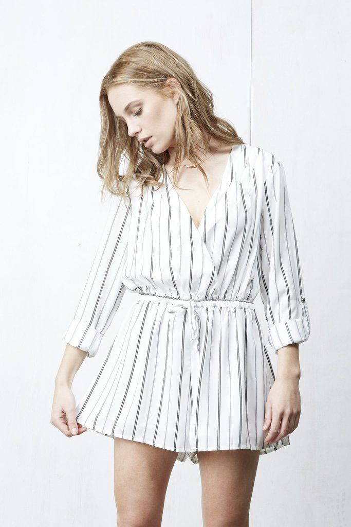 Cross Over Playsuit