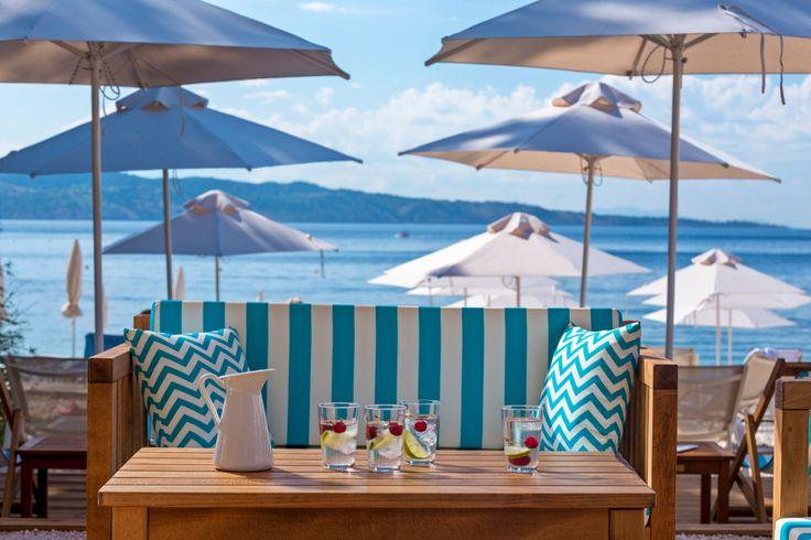 San Antonio Corfu Resort, Beach