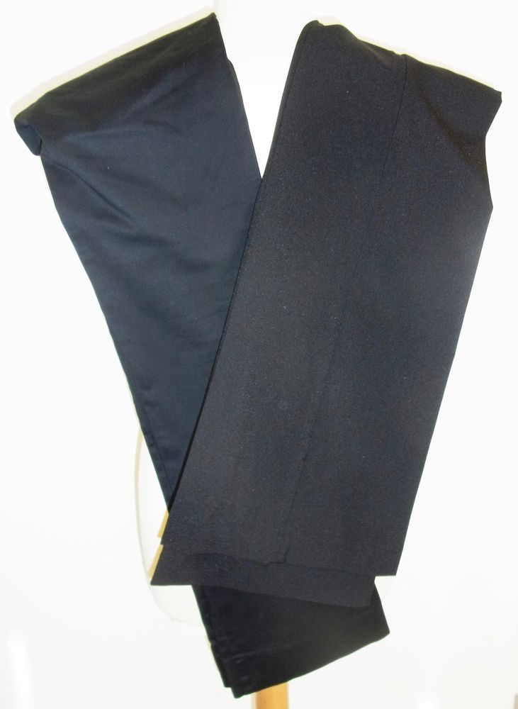 2 LADIES BLACK TROUSERS-UK 10-ZARA BASIC-MISS SELFRIDGE-USED-VERY CHIC #ZaraBasicMissSelfridge