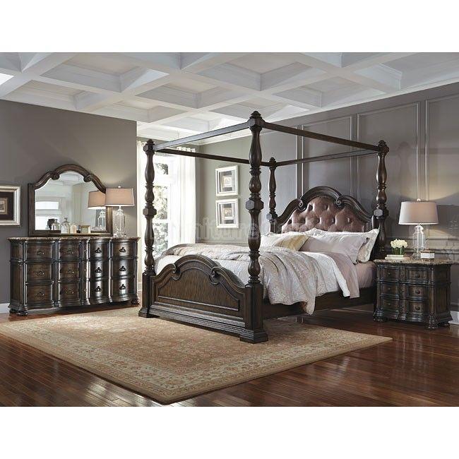 cortina canopy bedroom set - Marble Canopy 2015