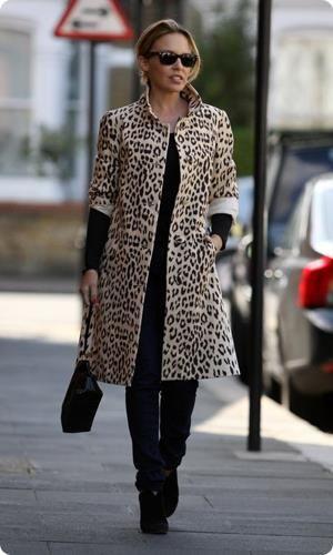 Леопардовые пальто оптом