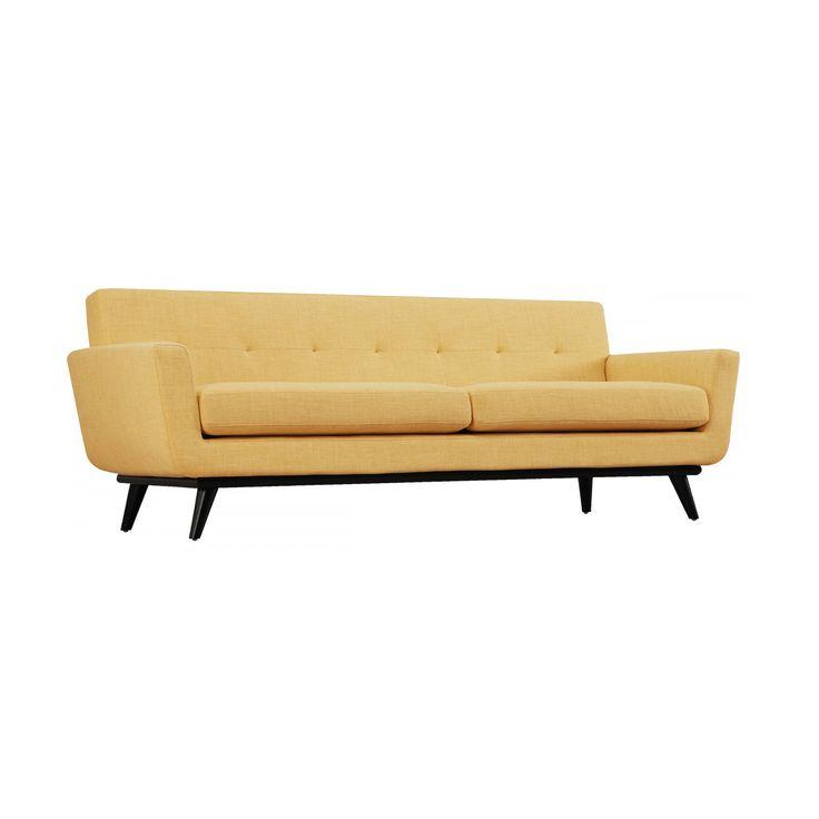 Modern Sunshine Linen Sofa | dotandbo.com