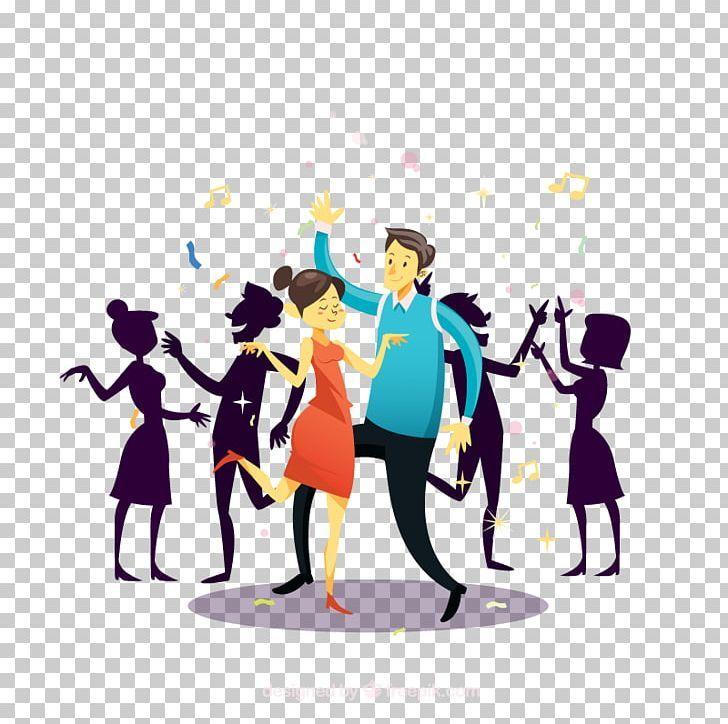 Dance Party Nightclub Png Animation Art Birthday Communication Dance Night Club Dance Png