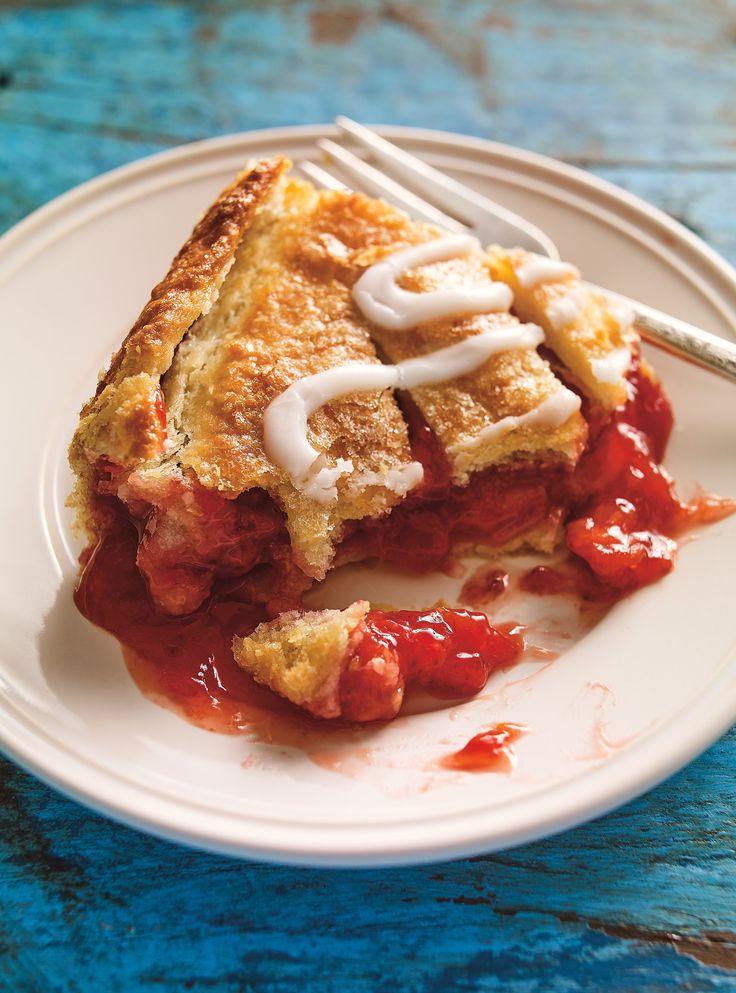 tarte-chausson aux fraises #tarte #chausson #fraises #ricardo