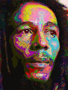 Samuel Majcen - Colorful Bob Marley