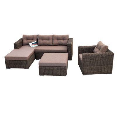 4 Piece Havana All Weather Wicker Sectional $1999.99