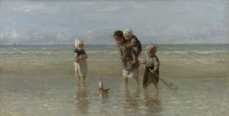 Children of the Sea by Jozef Israëls, 1872. Rijksmuseum, Public Domain
