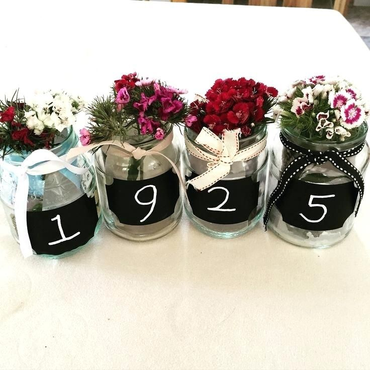 Mesmerizing 90 Birthday Decoration Use Chalkboard Numbers Table Centre Piece Born In Birthday Decoration Table Anniversaire 60e Anniversaire 60eme Anniversaire