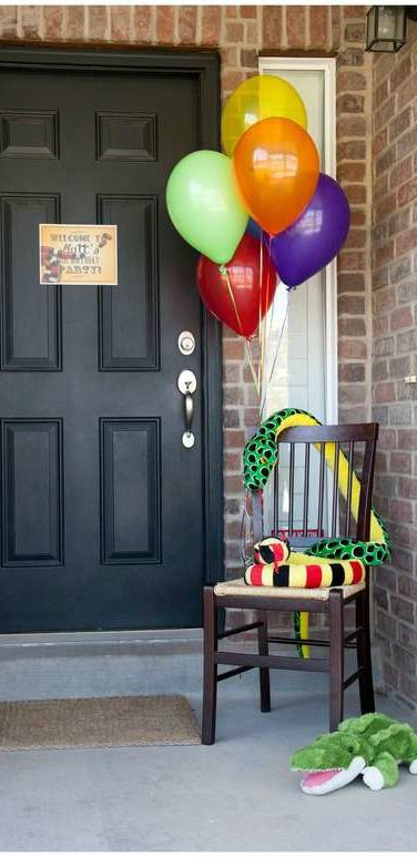 Reptile Birthday Party Ideas!  See more party ideas at CatchMyParty.com!