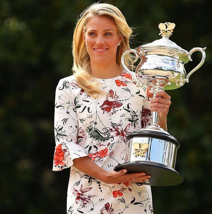 Angelique Kerber, Australian Open Champion 2016, finalist at Wimbledon and now the U.S Open Women's Champion 2016!.. As of Monday Sept.12,  2016, the World #1.Brava Angie!!