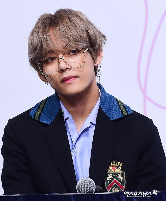 Tae | the glasses make him look more formidable almost