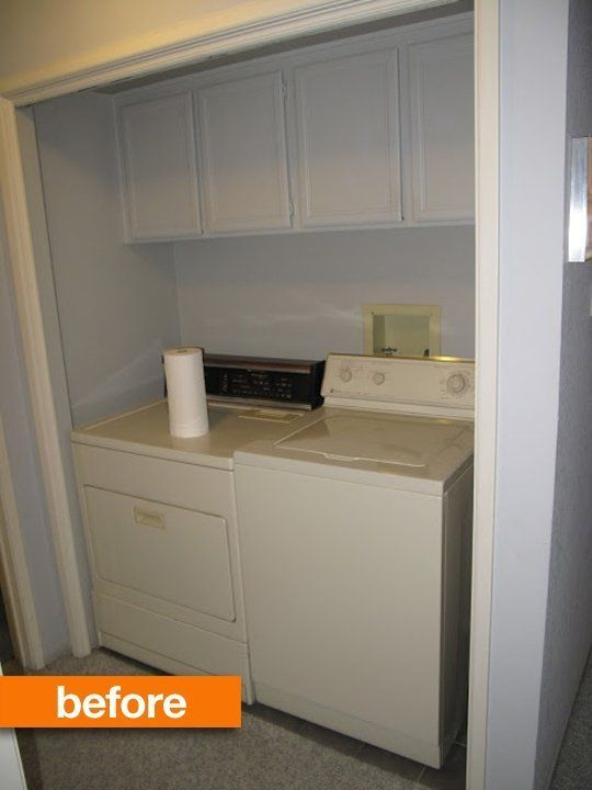 Before & After: Laundry Nook Refresh — Emerson Grey Designs FABULOUS!!!