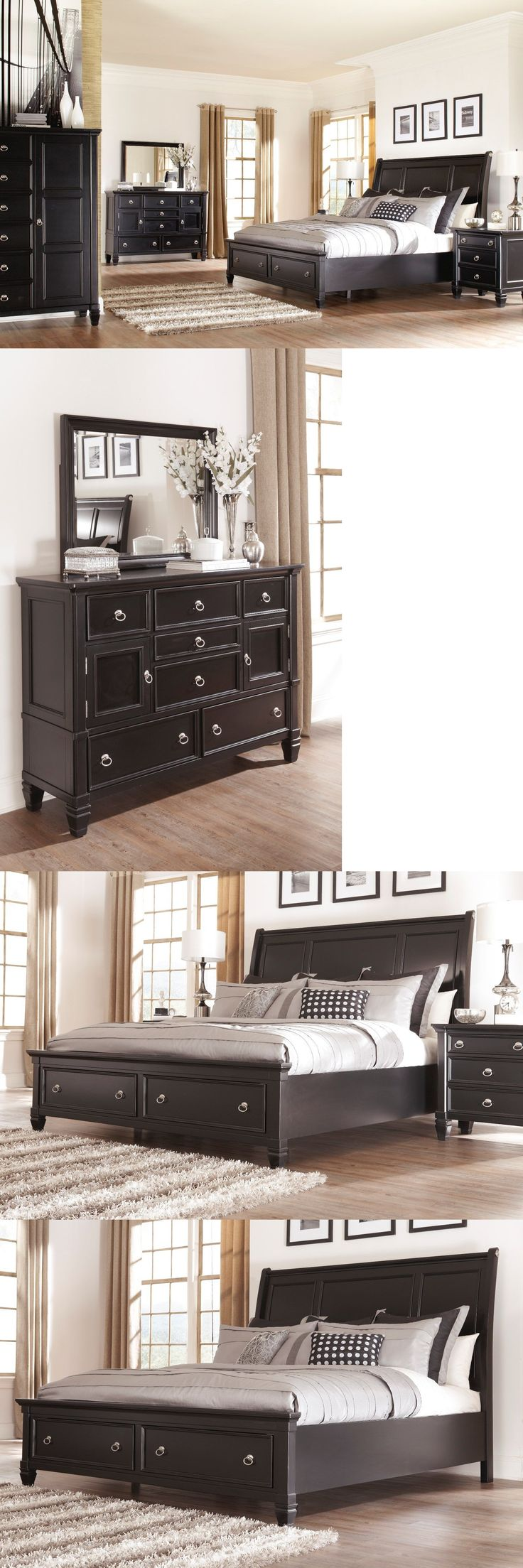 Bedroom Sets 20480  Ashley Greensburg 6 Piece Queen Bed Set W Footboard  Storage Furniture B671. Best 25  Ashley furniture bedroom sets ideas on Pinterest