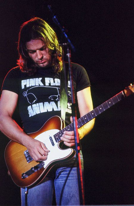 David Gilmour... Pink Floyd