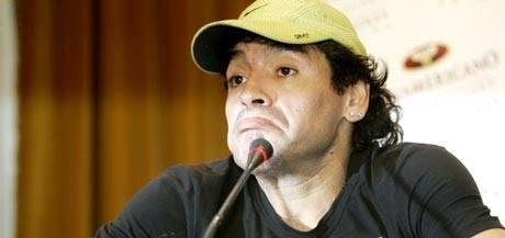 Maradona se defendió