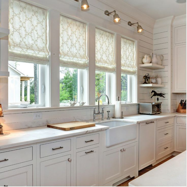 Exceptional Traditional Kitchen By William Quarles Design/Photography Love The Window  Shades!