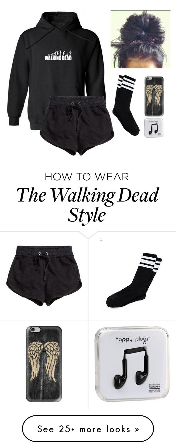 """THE WALKING DEAD"" by too-many-fandoms-chic on Polyvore featuring H&M, Casetify and Happy Plugs"