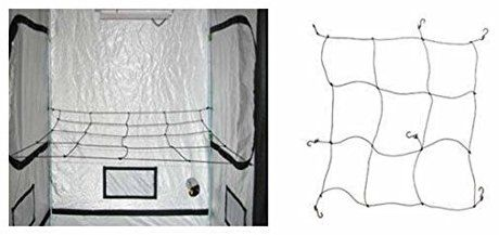 Use netting such as this and weave fabric and flowers in it? || Secret Jardin WebIt 90 Trellis Netting [dl-SJWebit-90] - Grow Rooms / Tents - Gardening & Hydroponics Store - Horticulture Source