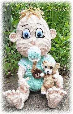 Baby Peanut Sewing Toys Baby Doll Pattern Crochet Dolls