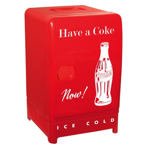Koolatron Retro Compact Thermoelectric Refrigerator (CCR12) - Coca-Cola - Online Only