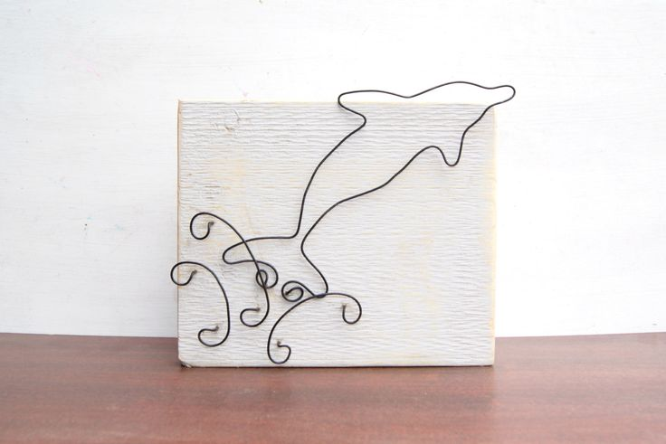 Reclaimed wood and wire Dolphin wall hanging. Rustic Dolphin art sign. Unique Dolphin art. Breaching Dolphin art sign. by ArtandImperfections on Etsy