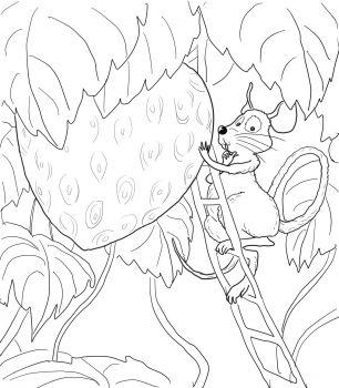 little mouse coloring pages - photo#14