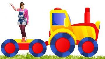 Мультики для детей  http://video-kid.com/11050-multiki-dlja-detei.html  Развивающие мультики для детей про Свинку Пеппа от Маши #КапукиКануки в передаче Супер План! Свинка Пеппа хочет построить трактор для папы, чтобы помочь ему с перевозкой деталей для детской площадки. Давайте вместе нарисуем наш трактор и построим его из пластилина, а потом раскрасим его -- ищи раскраску в нашей группе ВКонтакте!Мы в ВКонтакте: Мы в Одноклассниках: Мы на Facebook: Смотрите видео с игрушками для детей и…