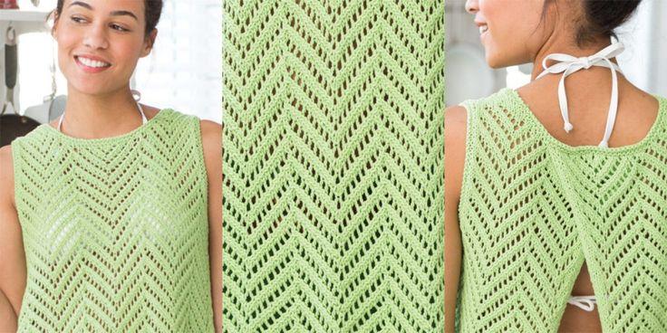 Топ спицами Vogue Knitting Spring Summer 2017