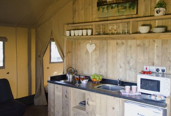 Glamping in Isle of Wight, UK - Thorness Bay Holiday Park