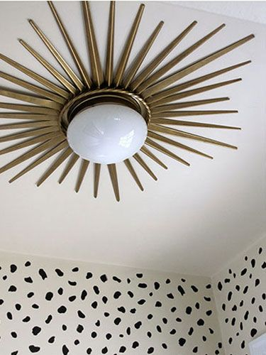 Ceiling Light Cover Stuck : Best ideas about ceiling light diy on