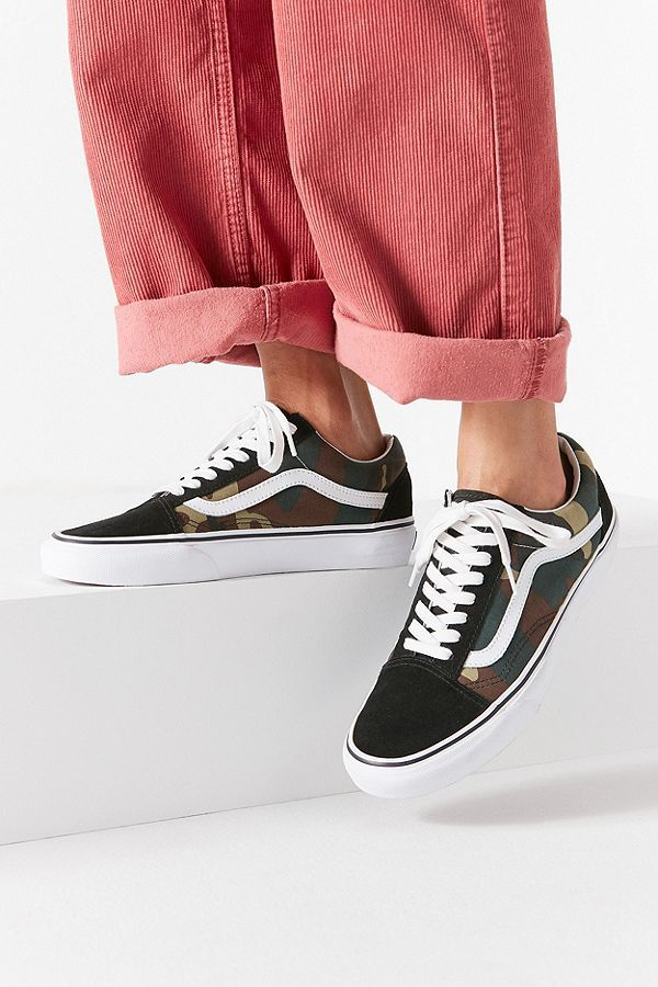 Slide View: 1: Vans Woodland Camo Old Skool Sneaker