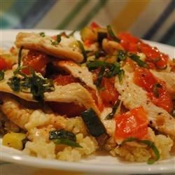 Chicken with Quinoa and Veggies Allrecipes.com