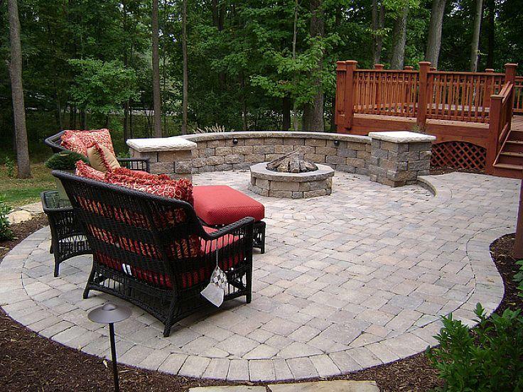 Landscaping Ideas: Outdoor Patios | Patios, Small Outdoor Patios And  Backyard