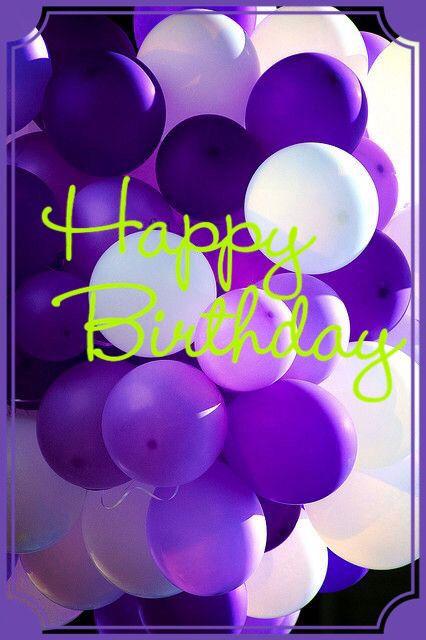 HBD Purple balloonsMrg --- http://tipsalud.com -----