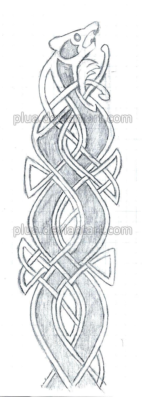 Merida's bow pattern by Plua